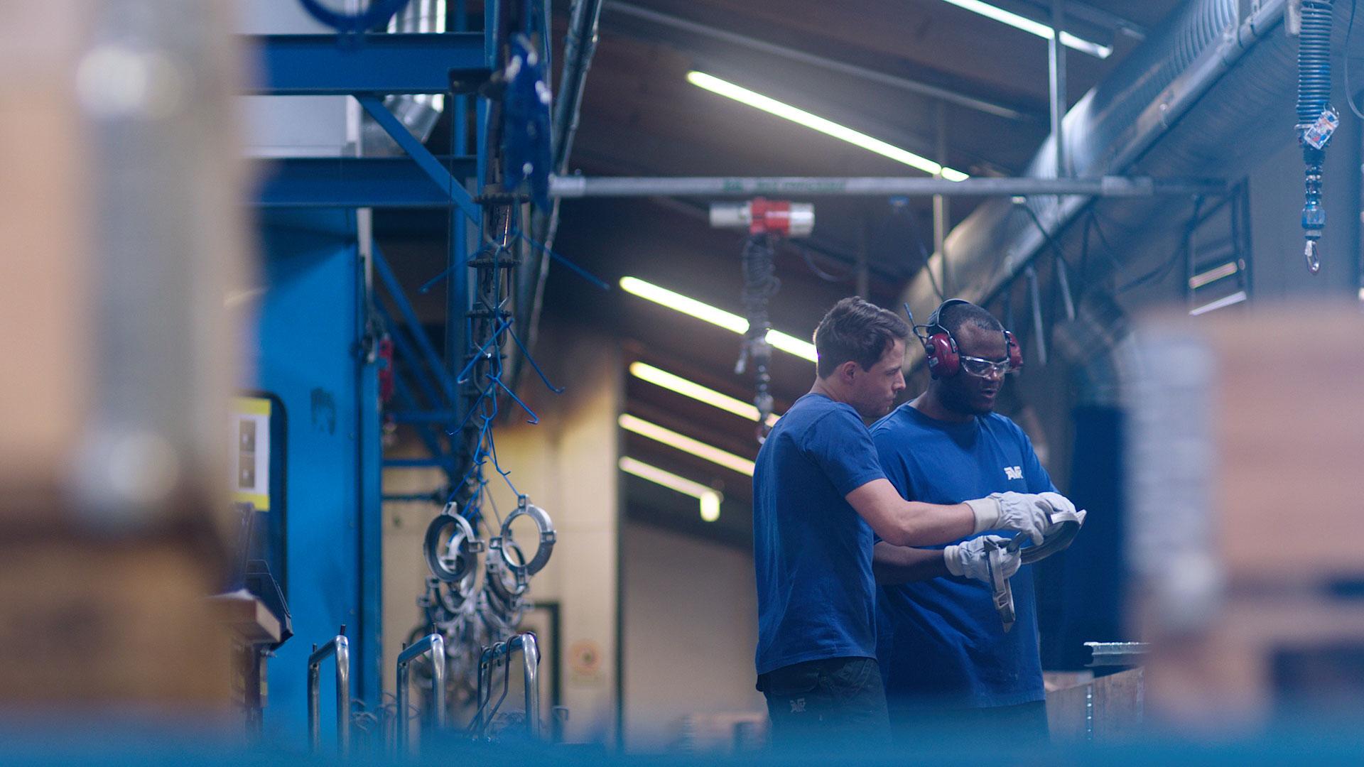AVK fabriek productie