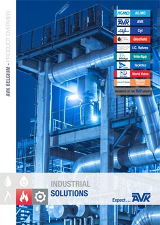 Voorpagina van brochure Industrial Division