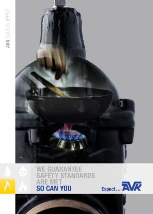 AVK productbrochure voor gasvoorzieningen