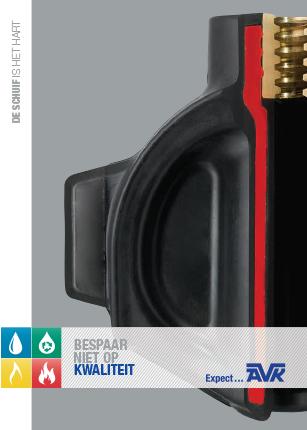 Productbrochure over het proces en kwaliteit van de schuif in een AVK-schuifafsluiter