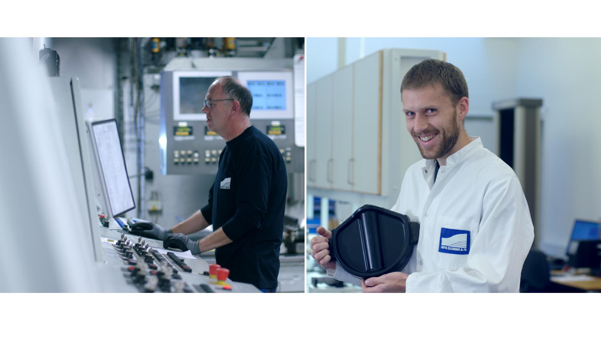 Productie en testen AVK Gummi - AVK-rubber
