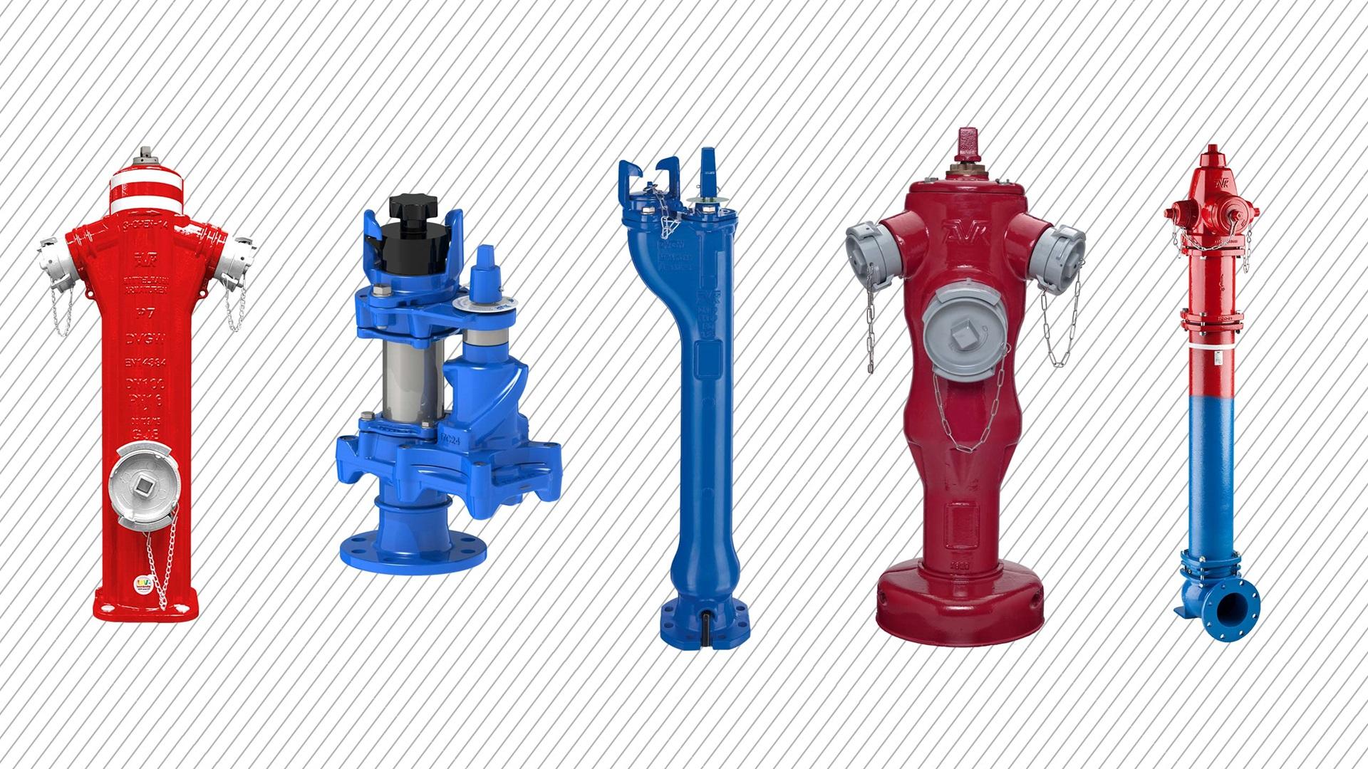 Aanbod ondergrondse en bovengrondse hydranten AVK Belgium