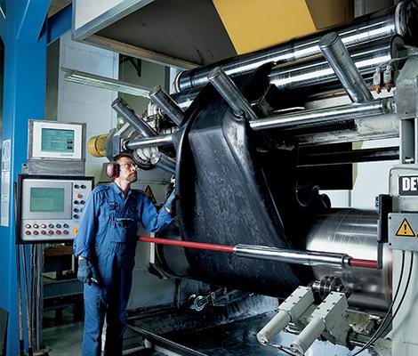 Weerstand van AVK's EPDM-rubber