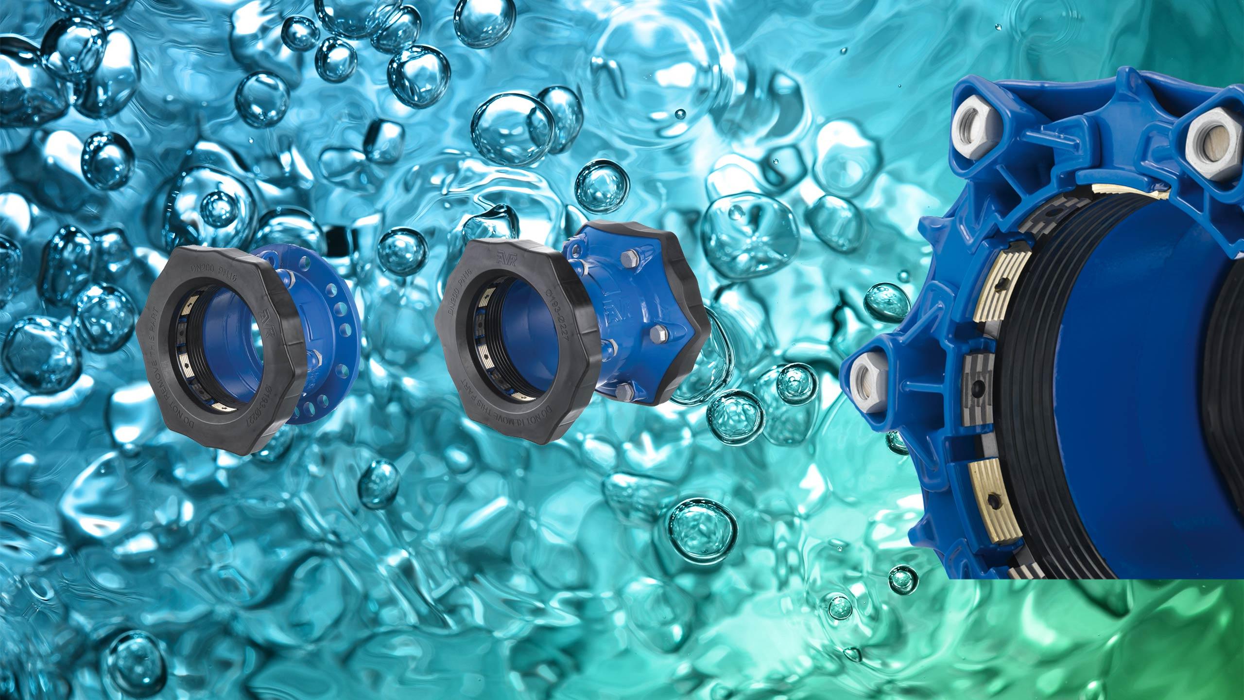 Supa Maxi met NBR-rubber voor afvalwatertoepassingen trekvaste universele koppeling