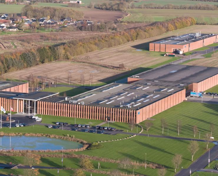 AVK's hoofdkantoor in Denemarken