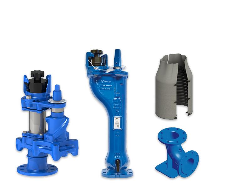 Ondergronde hydranten in verschillende uitvoeringen