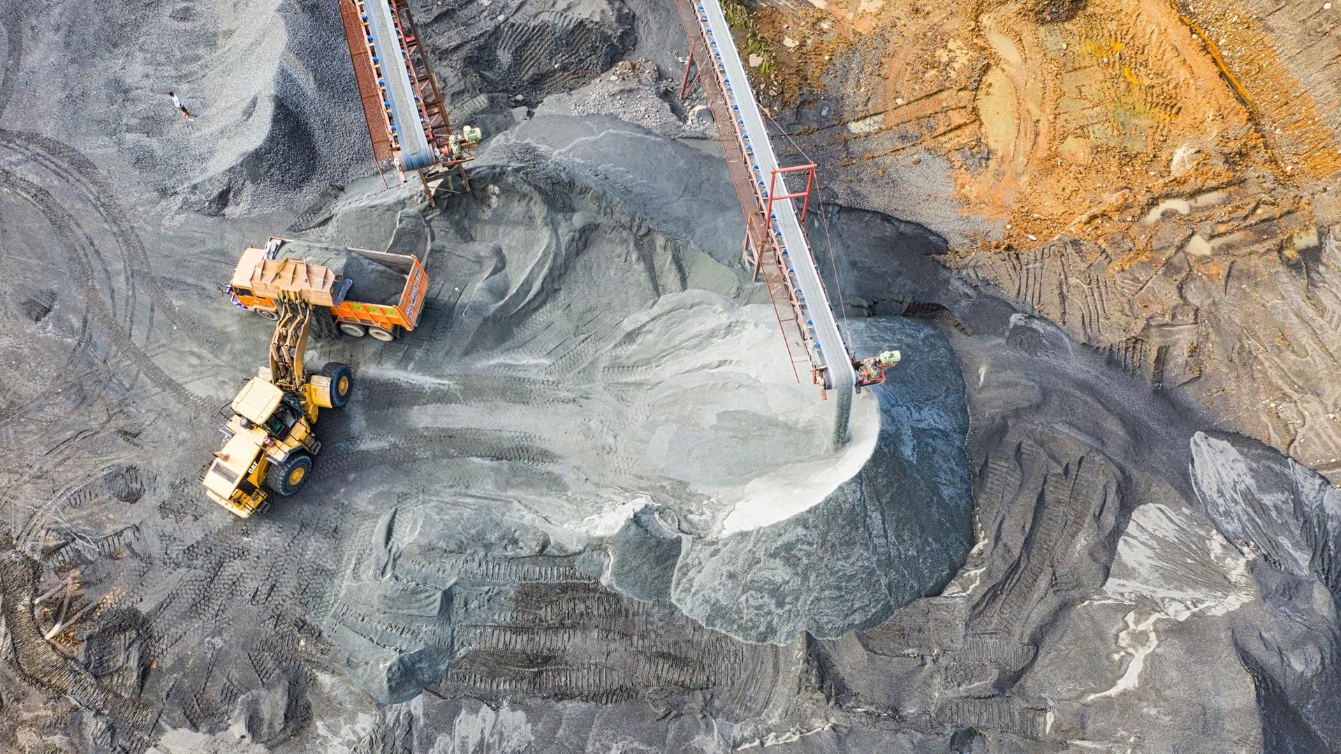 industriele afsluiters voor mijnbouw