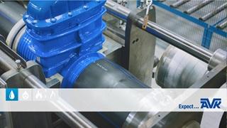 AVK-schuifafsluiters met PE-einden nu in 4 grotere diameters